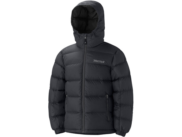 Marmot Guides Down Hoody Boys, black